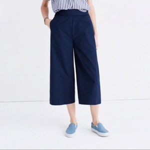 Madewell Mayfield Culotte Wide Leg Pants M